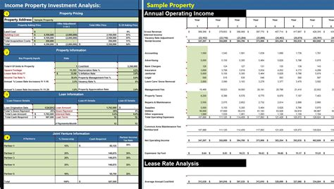 reports and investment analysis cash flow focus