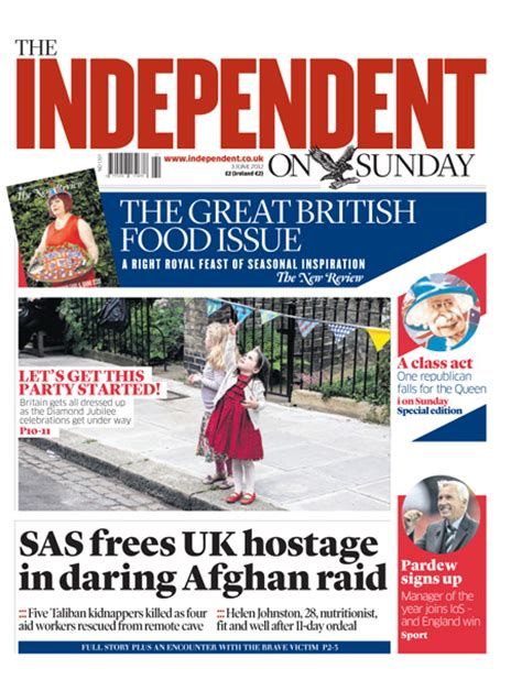 sunday independent business section the independent on sunday readership circulation