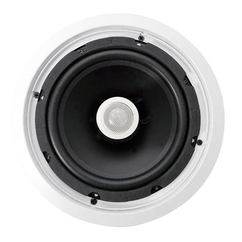 new pylehome pdic80t 8 two way in ceiling speakers w 70v