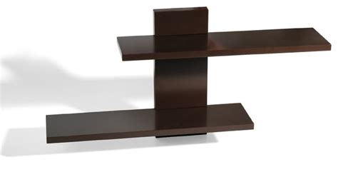 espresso adjustable ledge shelf contemporary display
