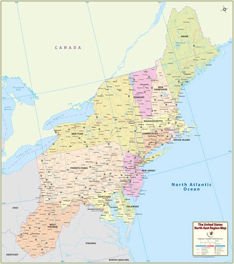 map of the northeast usa large us northeast region map hd 2000 x 2256 pixel