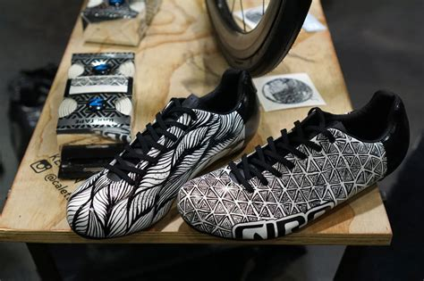 custom bike shoes are custom painted cycling shoes the next big hit bikerumor
