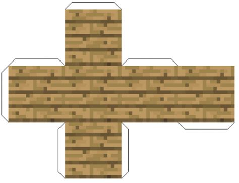 Minecraft Papercraft Wooden Planks - woodenplanks png creeeper