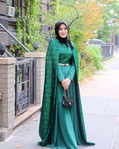 23 Pakain Muslim Untuk Wanita Warna Pink 23 gaun pesta muslim modern dian pelangi elegantria