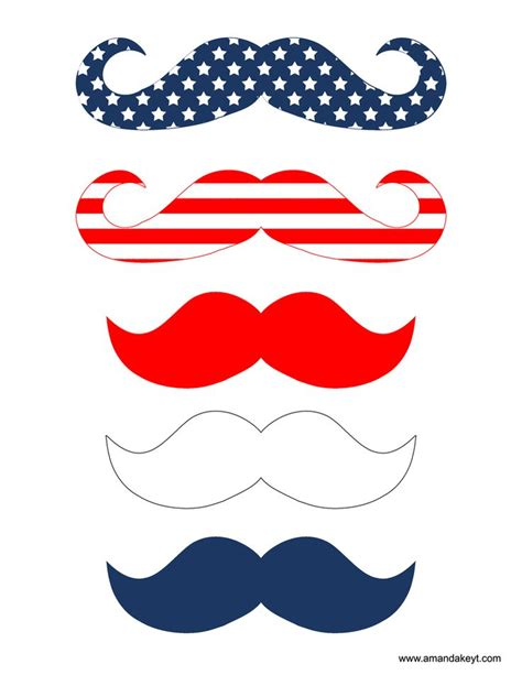 26 printable photo booth props moustache freebies www amandakeyt com freebies diy photo booth
