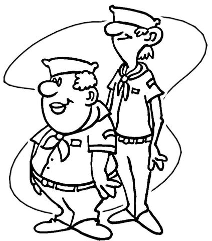 Wolf Cub Scout Coloring Pages Coloring Pages Cub Scouts Coloring Pages