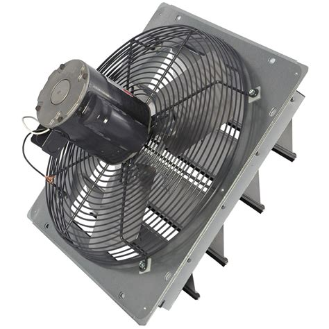 air vent 18 in dia electric gable vent fan dayton da 7f67 attic exhaust fan durable steel electric