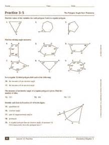sum of interior angles of a polygon worksheet abitlikethis