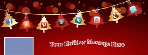 5 Free Christmas Holiday Facebook Cover Photo Photoshop