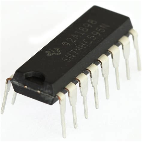 integrated circuits shop 74hc595 8 bit serial in serial or parallel out shift register protostack
