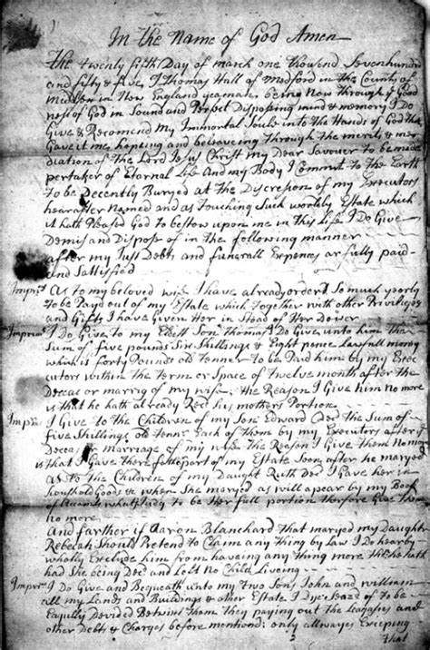 Probate Court Records Finding Your Massachusetts Ancestors Genealogy Research From The 17th To 21st Centuries