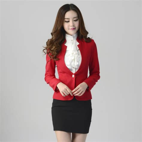 Amerika Blouse 2018 2016 new formal suit with skirt pant shirt for