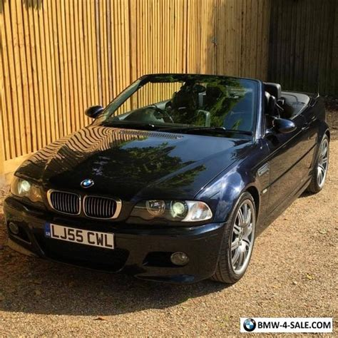 Bmw M3 2005 For Sale by 2005 Sports Convertible M3 For Sale In United Kingdom
