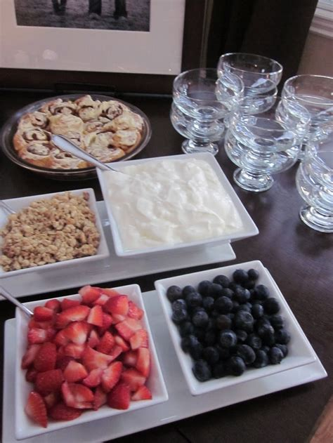 yogurt bar toppings 17 best images about mom s party on pinterest yogurt bar