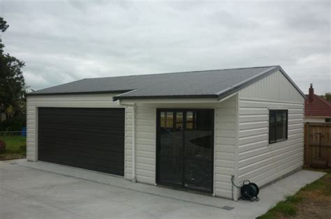 Barn Garage Designs garage with sleepout single double amp large kitsets ideal