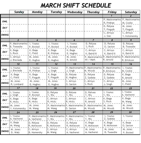 shift schedule template 24 7 image gallery shift schedule