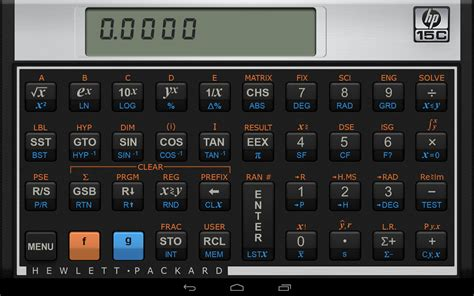 android calculator app hp 15c scientific calculator android apps on play