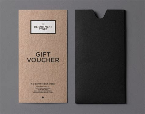Gift Cards Design - best 25 gift voucher design ideas on pinterest coupon design restaurant discount