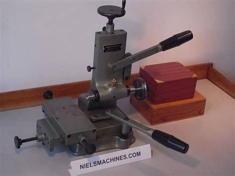 Jean Greub Precision Watchmaker Milling Machine 248 6mm Swiss
