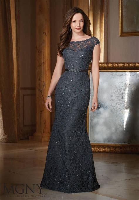 Mm 003 Dress Beautiful mgny by mori 71423 beaded lace mob gown novelty