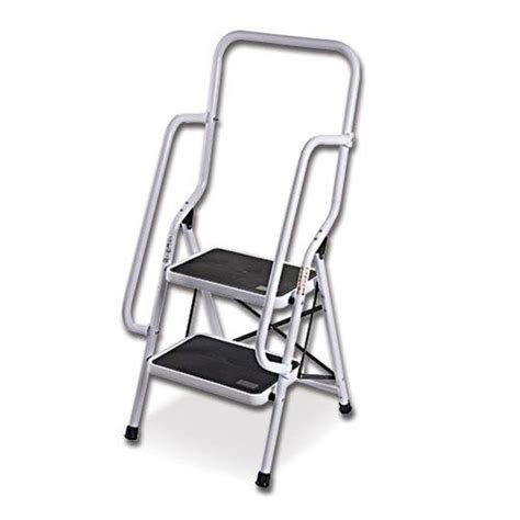 fold up step ladder lightweight aluminium fold up step ladders with rubberized