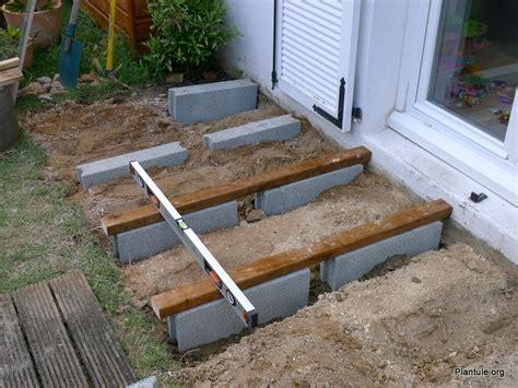 le a poser bois nivrem pose terrasse bois jardin diverses id 233 es de conception de patio en bois pour