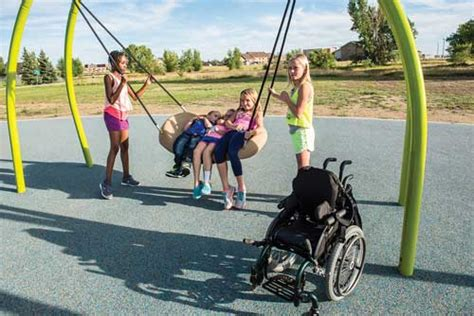 free swing sites new equipment trends lead to more inclusive playgrounds