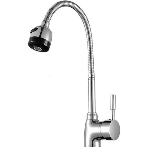 Kitchen Faucet Either Or Cold Free Shipping Solid Brass Kitchen Mixer Taps And Cold