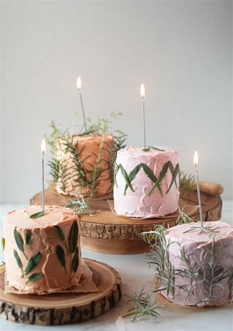Herbal Cak Herb Infused Birthday Cakes A Subtle Revelry