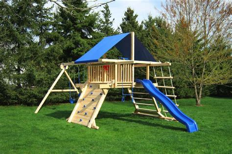 build swing set diy swing set swing sets pinterest