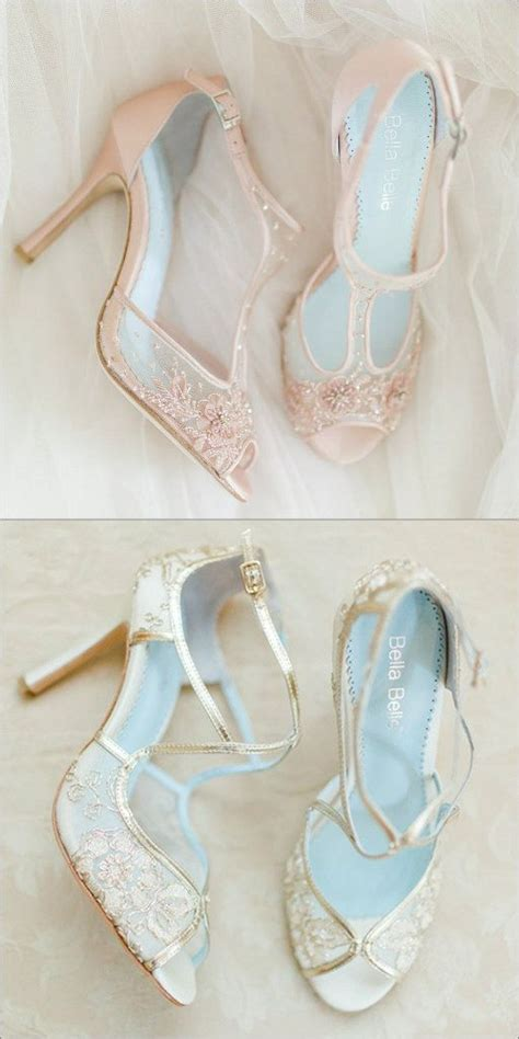 Blush Wedding Shoes by Top 25 Best Chagne Wedding Shoes Ideas On