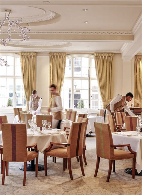 The Goring Dining Room by Shay Cooper At The Goring