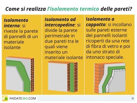 isolamento termico muri interni 187 materiali per isolamento termico pareti interne