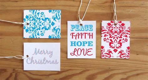 extra large printable gift tags colorful printable christmas gift tags favecrafts com