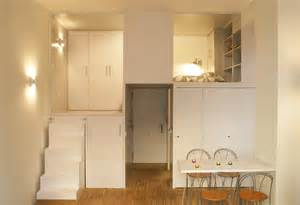 Tiny Apartment by 300 Square Foot Micro Studio Loft Apartment With Space