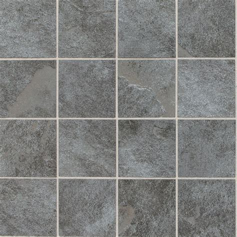 continental slate english grey cs57 3x3 porcelain mosaic