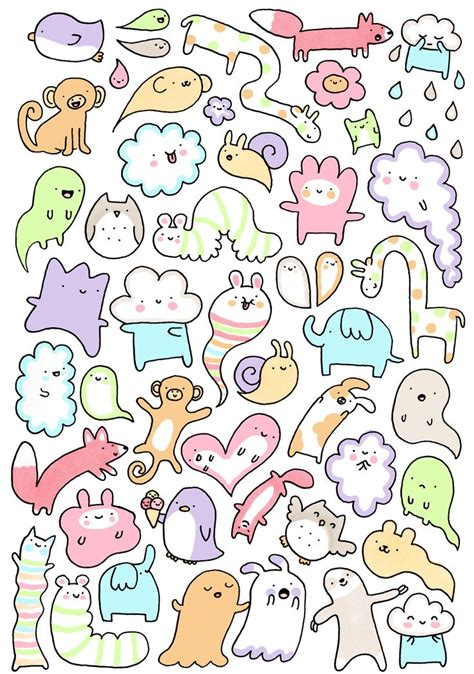 doodle draw animals 34 best doodles images on drawings animal