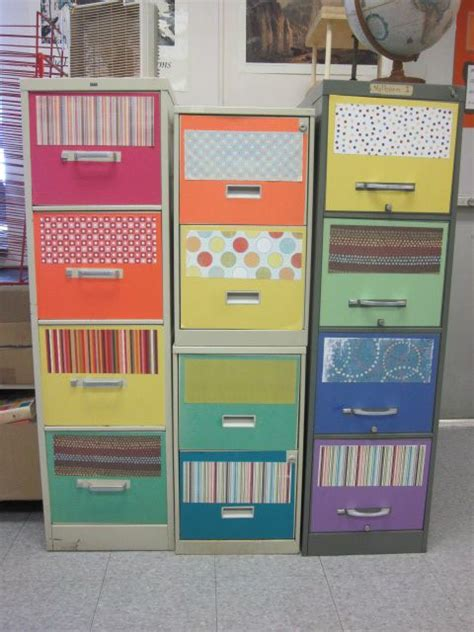 Decorated File Cabinets Art Ed Art Room Decor