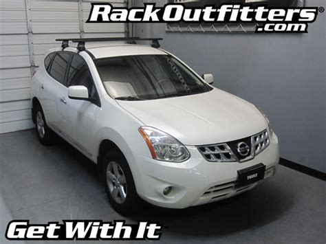 new nissan rogue thule rapid traverse black aeroblade roof