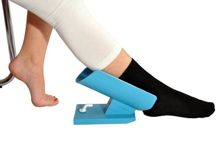 easy sock aid kit helps slide socks on and without