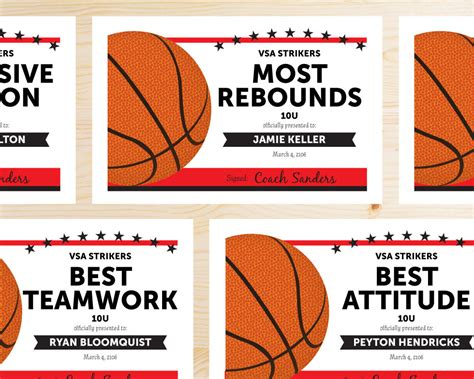 basketball team colors great team colors basketball team award certificates