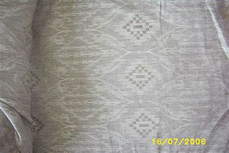Upholstery Description by Vintage Quality Linen Upholstery Fabric Woven Jacquard