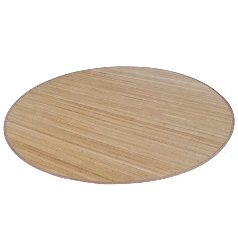 runder teppich 180 cm der runder bambusteppich 180 cm braun shop vidaxl de