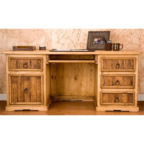 rustic executive office desk