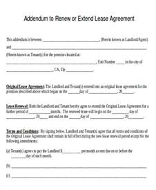 Sle Letter Of Lease Renewal Agreement Letter Formats