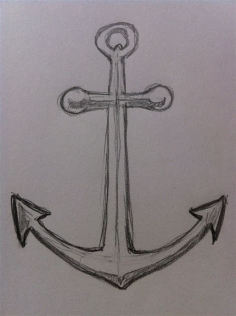 anchor pattern drawing how to draw an anchor feltmagnet