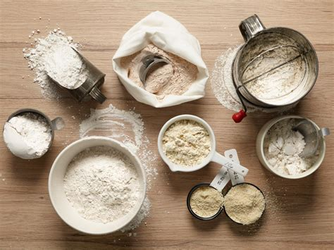 using flour different flour types and uses flour 101 food network