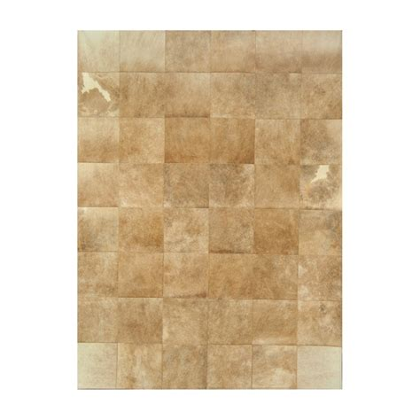 Cowhide Rug Patchwork - patchwork cowhide rug k 68051 light beige fur home