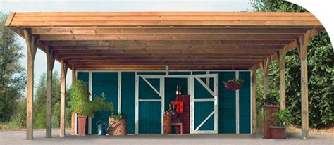 Carport Holz Kaufen by Holz Garagen Kaufen Im Holz Haus De Garten Baumarkt