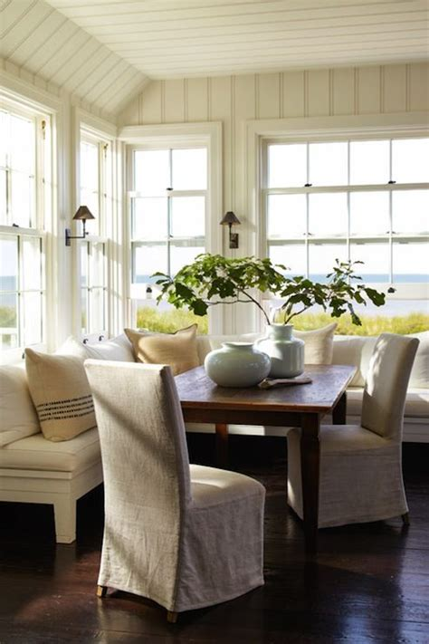 l shaped dining banquette sawyer berson dining rooms tongue and groove walls l